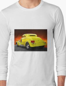1934 Ford 'Chopped Top' Coupe 3Q Rear Long Sleeve T-Shirt