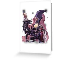 Yugi Muto with his monsters. Greeting Card