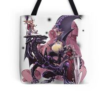 Yugi Muto with his monsters. Tote Bag