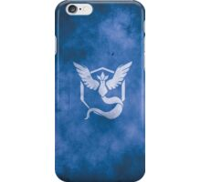 Team Mystic grunge iPhone Case/Skin