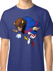 Buffalo Bills - Vintage Running Buffalo Football Player Classic T-Shirt