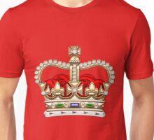 St. Edward's Crown - British Royal Crown  Unisex T-Shirt