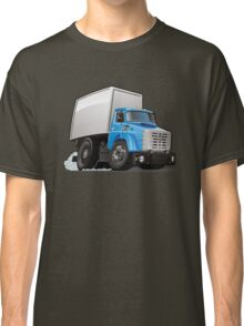 Cartoon delivery or cargo truck Classic T-Shirt