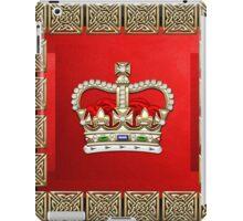 St. Edward's Crown - British Royal Crown  iPad Case/Skin