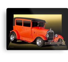 1929 Ford Model A Tudor Sedan Metal Print