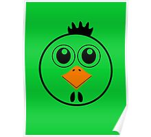 chicken with Yellow nose Cartoon animation Poster