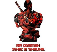 "Deadpool ""My Common Sense Is Tingling."" by PMckennaDesigns"