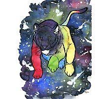 Voltron Universe Lion Photographic Print