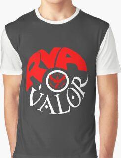 Team Valor RVA - Pokeball Version Graphic T-Shirt