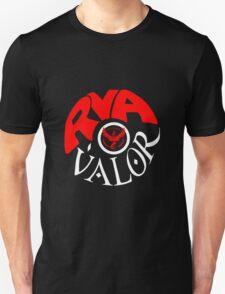 Team Valor RVA - Pokeball Version Unisex T-Shirt