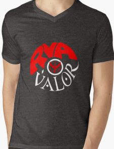 Team Valor RVA - Pokeball Version Mens V-Neck T-Shirt