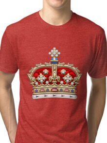 Crown of Scotland  Tri-blend T-Shirt