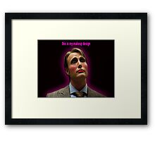 This Is my Makeup Design Framed Print
