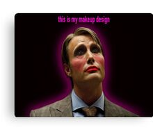 This Is my Makeup Design Canvas Print