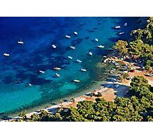 Mourtia beach - Samos island Photographic Print