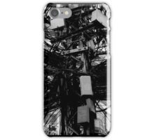 Electric cables exchange, Saigon, Vietnam iPhone Case/Skin