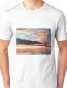 Long Island Sound at Sunset Unisex T-Shirt