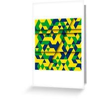 Abstract Rio de Janeiro Greeting Card