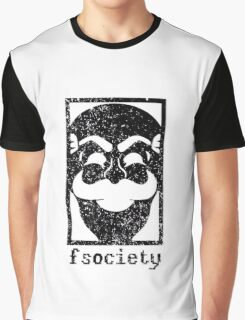 Mr Robot - Fsociety Graphic T-Shirt