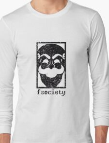 Mr Robot - Fsociety Long Sleeve T-Shirt