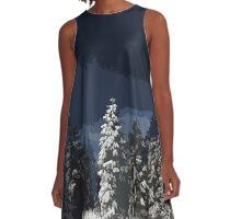 Winter Forest A-Line Dress