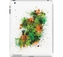 Ireland Map Paint Splashes iPad Case/Skin