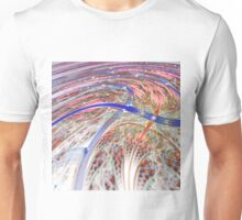 Colorful Swirl - Abstract Fractal Artwork Unisex T-Shirt