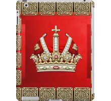 Holy Roman Empire Imperial Crown  iPad Case/Skin