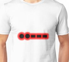 Morse Code Number 2 Unisex T-Shirt