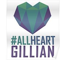 #AllHeartGillian - Blue Poster