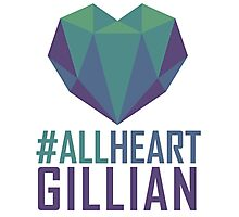 #AllHeartGillian - Blue Photographic Print