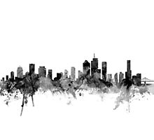 Brisbane Australia Skyline Photographic Print