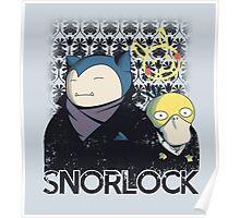Snorlock Poster