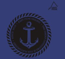 Boating Anchor t-shirt - East Peak Apparel by springwoodbooks