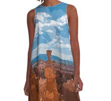 Desert Rocks A-Line Dress