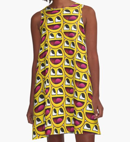 Awesome Face A-Line Dress