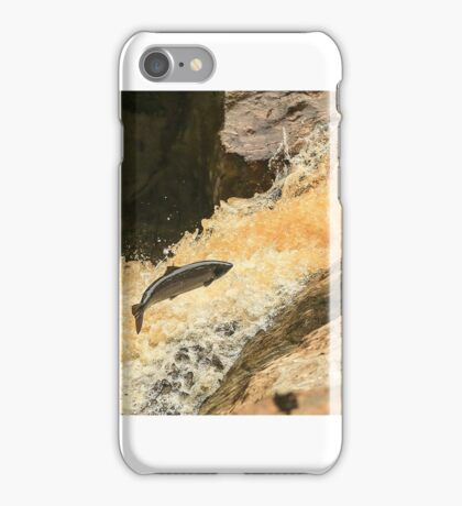 salmon leap clohan co donegal ireland iPhone Case/Skin