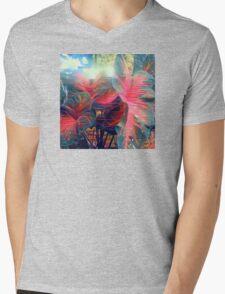 Tropical Jungle Mens V-Neck T-Shirt