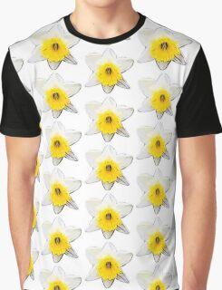 Narcissus Print Graphic T-Shirt
