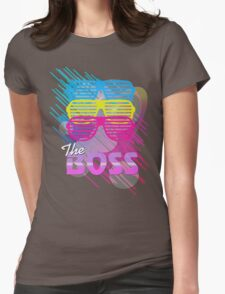 The Boss 80's Design Womens Fitted T-Shirt