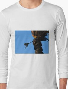 Flying while drinking Long Sleeve T-Shirt
