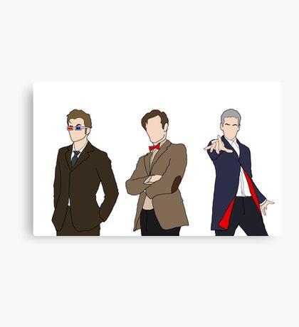 Three Doctors Canvas Print