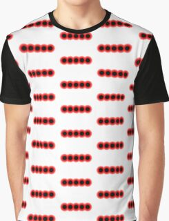 Morse Code Number 5 Graphic T-Shirt