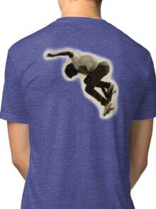 SKATEBOARD, Skateboarder, Skateboarding, sidewalk surfing, Jumper Tri-blend T-Shirt
