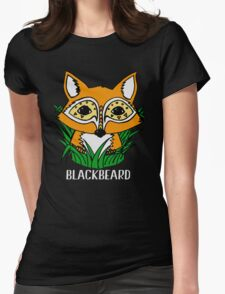 Baby Fox Womens Fitted T-Shirt
