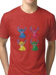 Stitch Pop Art Tri-blend T-Shirt