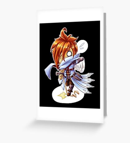 Astray Chibi Greeting Card