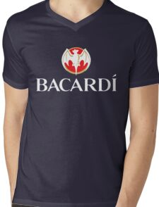 Bacardi Beer Mens V-Neck T-Shirt