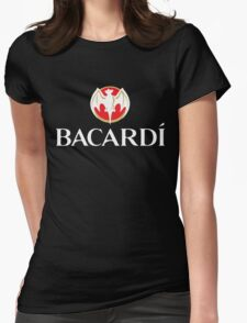 Bacardi Beer Womens Fitted T-Shirt
