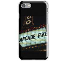 Arcade Fire Theater iPhone Case/Skin
